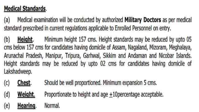 Medical Test For Indian Coast Guard Recruitment 2021